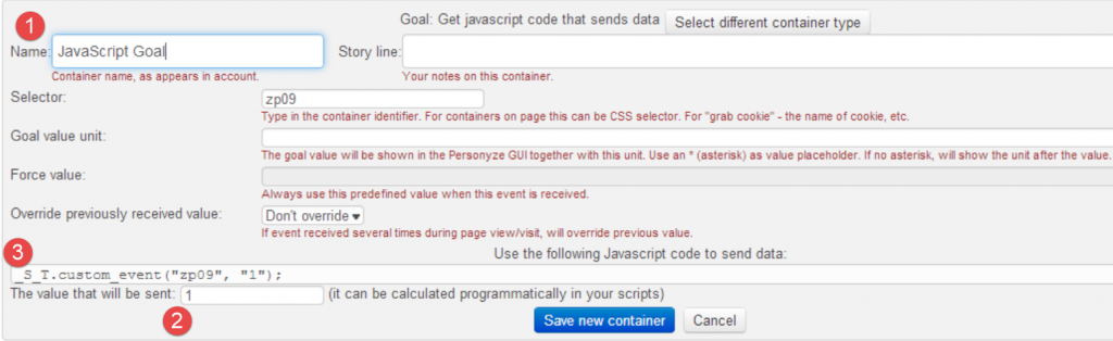 JavaScript Goal Print Screen1